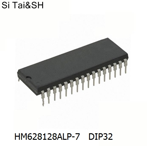 Free shipping 10pcs/lot HM628128ALP-7 8-bit high speed S static RAM DIP32 original ...