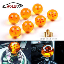 купить RASTP-Universal 1-7 Star Gear Shift Knob Dragon Ball Amber Dragon Car Shift Knobs With 57mm Diameter RS-SFN042 дешево
