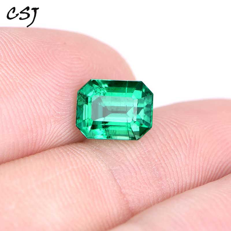 CSJ Lab Created Colombia Emerald