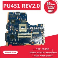PU451JF laptop motherboard For ASUS PU451J PU451 REV2.0 HM87 socket 940 DDR3 for NVIDIA GeForce 930M graphics card mainboard
