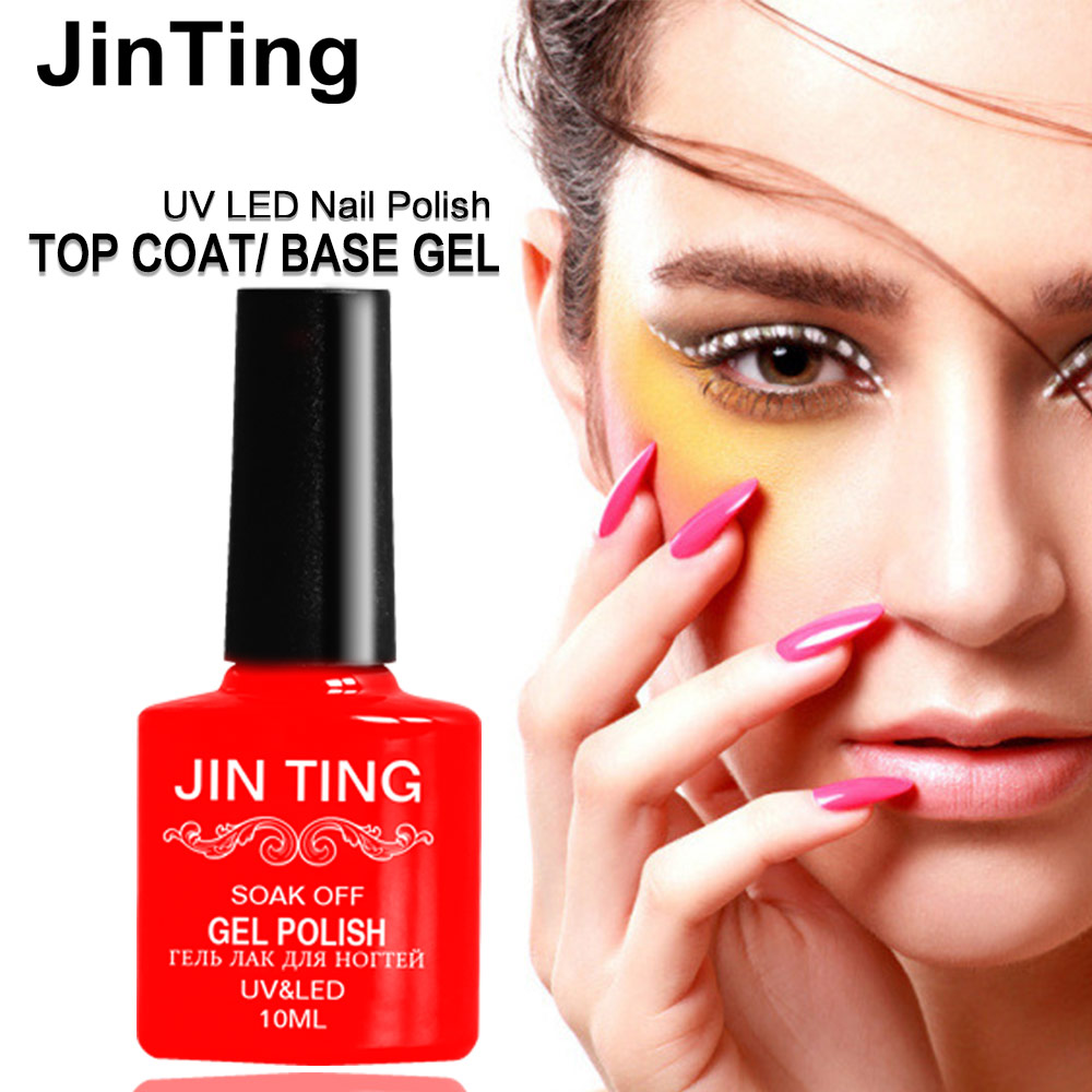 Jinting 10ml Uv Nail Gel Polish Long Lasting Led Lacquer Need Base And Top Coat Choose 1 Bottle