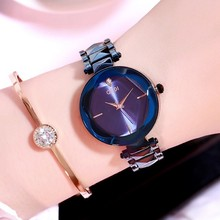 2019 Luxury Brand Quartz Women Watches Women Fashion Bracelet Wrist Watch New Rhinestone Ladies Watch relogio feminino masculino недорого