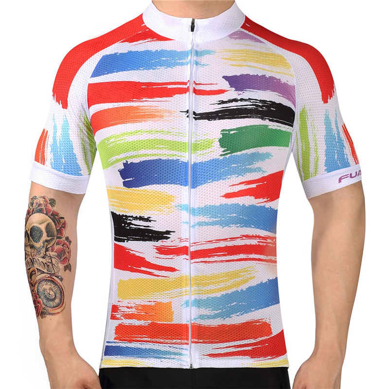 Fualrny ποδηλασία Jersey πουκάμισο άνδρες - Ποδηλασία - Φωτογραφία 3