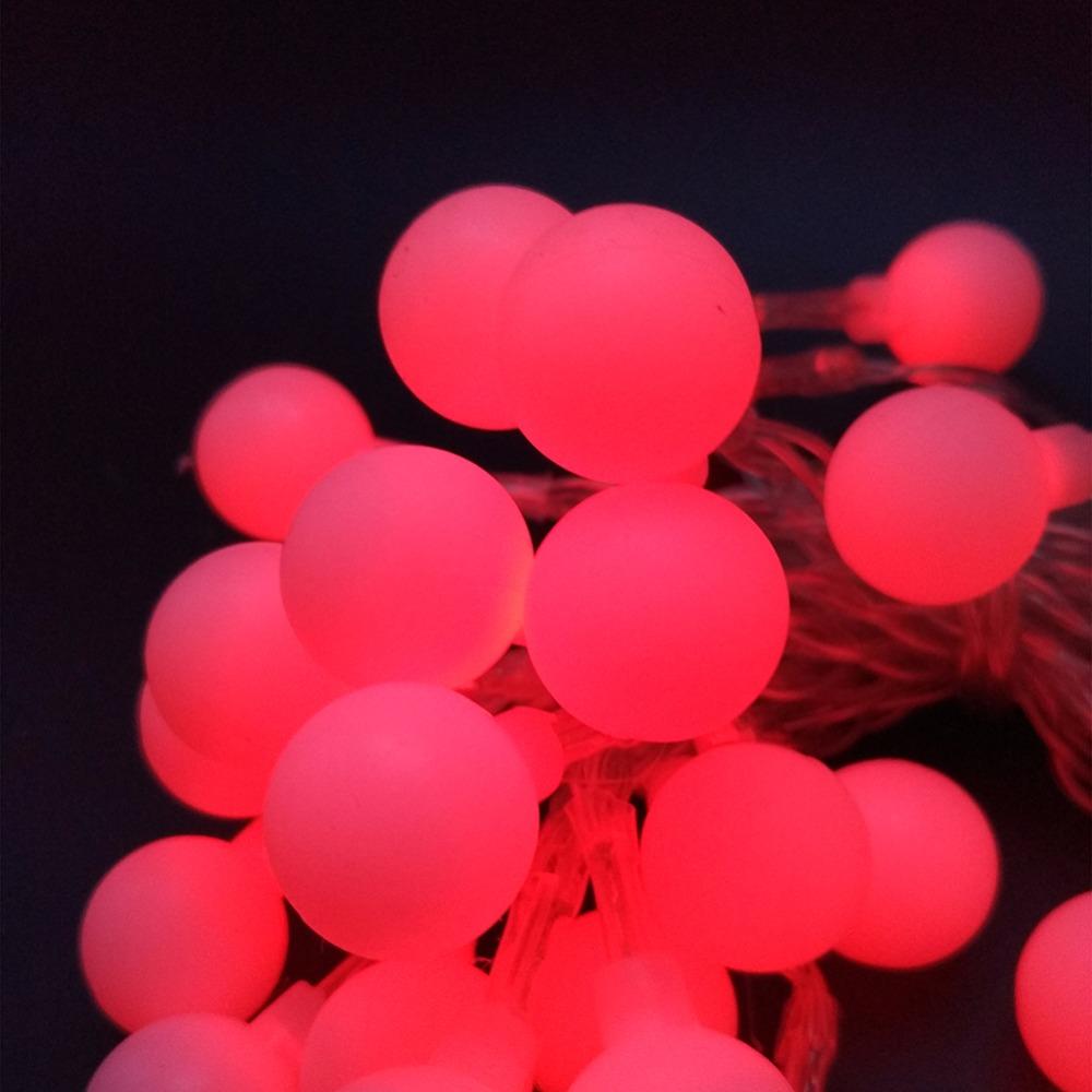 LED Star Lights Flashing Ball String AA Battery Light Christmas Decoration Stars Lights 50PCS (10)