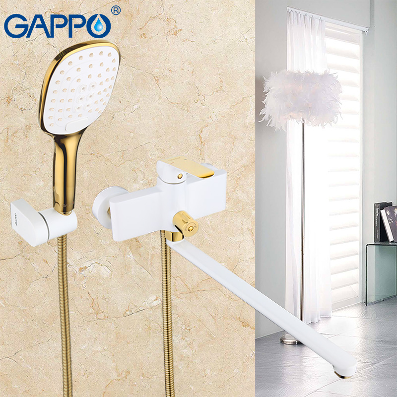 GAPPO 1set high quality waterfall bath shower faucet torneira mixer restroom sink shower faucets tap grifo in handshower G2280 sognare new wall mounted bathroom bath shower faucet with handheld shower head chrome finish shower faucet set mixer tap d5205
