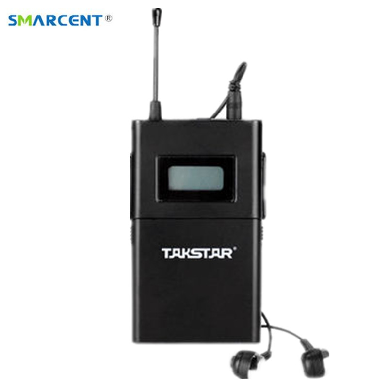 Original TAKSTAR WPM-200 Single Receiving with Earphone Professional Wireless Monitor System receiver frequency 780-789 MHz