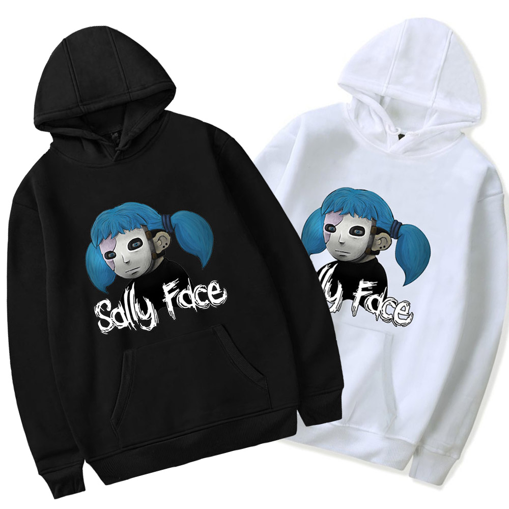 Sally Face Sweatshirt Hoodie Men And Women Cotton Long Sleeve Pullover Coat Hoodies Costume DropShipping