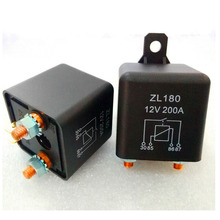 200A тележки автомобиля Мотор реле 12 В/24 В 2,4 Вт непрерывного типа Батарея переключатель для автомобильный стартер переключатели автомобиля реле