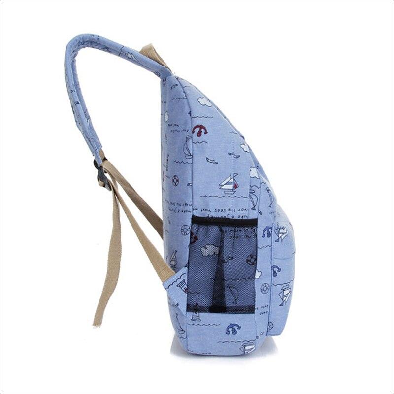 Для женщин Холст сумка Женская Корейская версия Обувь для девочек ранцы учащихся средних школ Унисекс Рюкзак Mochila masculina Ba