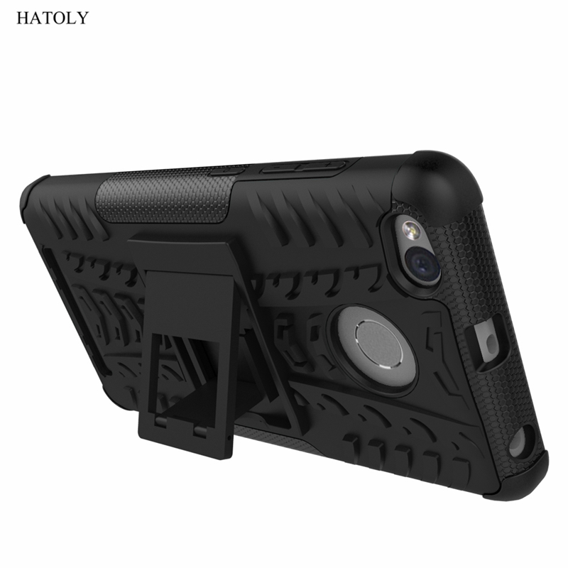 For Cover Xiaomi Redmi 3s Case Anti knock Heavy Duty Armor Stand Cover Redmi 3s Silicone Phone Bumper Case For Xiaomi Redmi 3s lt in Fitted Cases from Cellphones amp Telecommunications