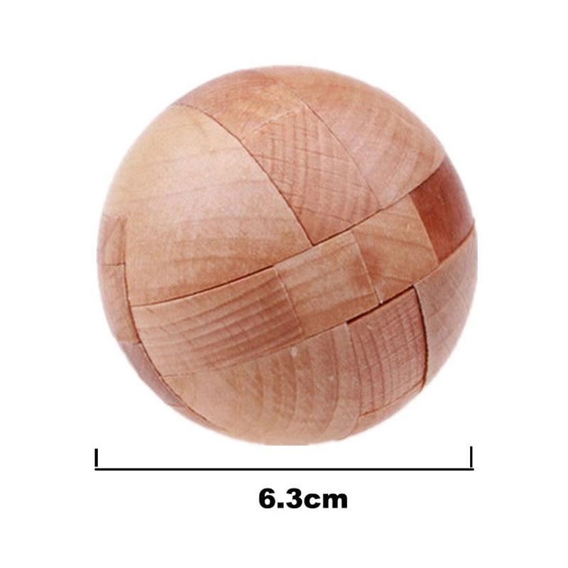 3D trä pussel Luban Lås Pussel Spel Leksaker För Barn Vuxna Barn - Spel och pussel - Foto 5