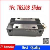 1 stück TRS20B TRS20A slider spiel verwendung TRS20 linearführung für linear schienen CNC diy teile-in Linearführungen aus Heimwerkerbedarf bei