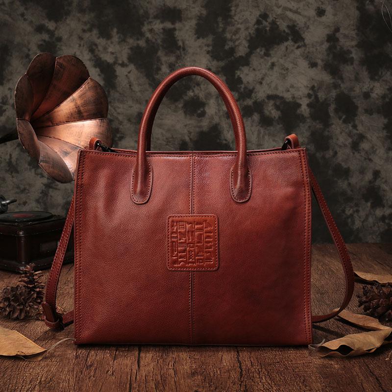 Tasche kapazität Leder Vereinigten 1 Und Schulter Weibliche Mode Große Die Bjyl Neue 2 Damen Tote Beutel Staaten Europa Weiblichen Handtasche 6CXwqZ71