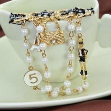 B10, номер 5, жемчуг, Ретро стиль, стиль, известный роскошный бренд, дизайнерская бижутерия, брошь на булавке, брошь для женщин, свитер, платье