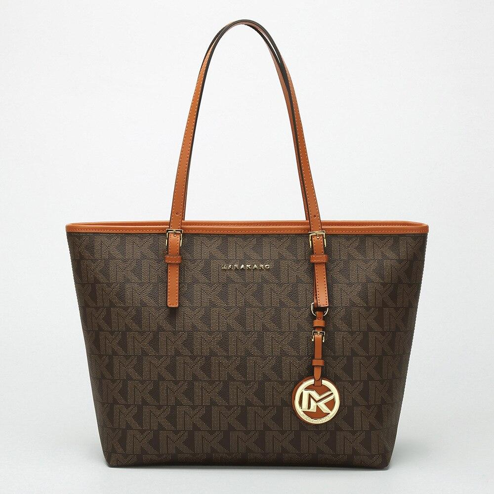 Classique décontracté fourre-tout célèbre marque style design sac femmes sac à main en cuir véritable sacs de mode