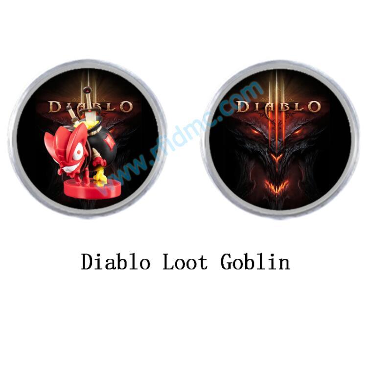 Mini Tag NFC Amiibo Coin Tag Diablo Loot Goblin