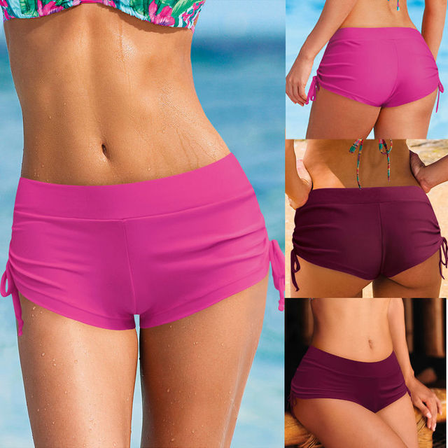 d431c5bf16 ITFABS women swimsuit shorts sexy women brief bathing suits swimwear  underwear female boxer swimming trunks boxer shorts