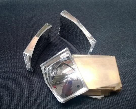 Lente di plastica proiettore ottico riflettore a specchio - Specchio di plastica ...