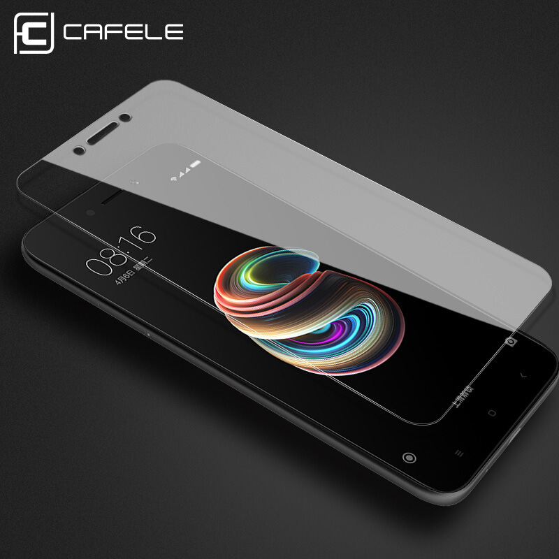 Image 2 - CAFELE Tempered Glass For Xiaomi MI 9 9t pro 8 6 5X A1 6X A2 mix 2 2S 3 9SE Pocophone F1 Redmi Note 7 8 k20 Pro Screen Protector-in Phone Screen Protectors from Cellphones & Telecommunications