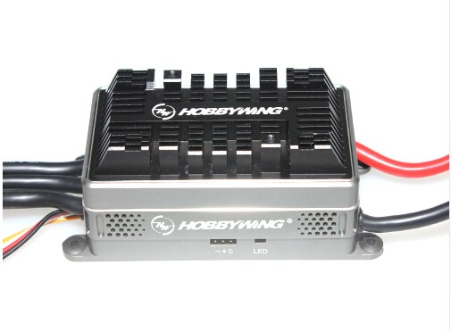 Hobbywing Platinum HV 200A V4 6-14S Lipo OPTO Brushless ESC for RC Drone Quadrocopter Heli copter F17826