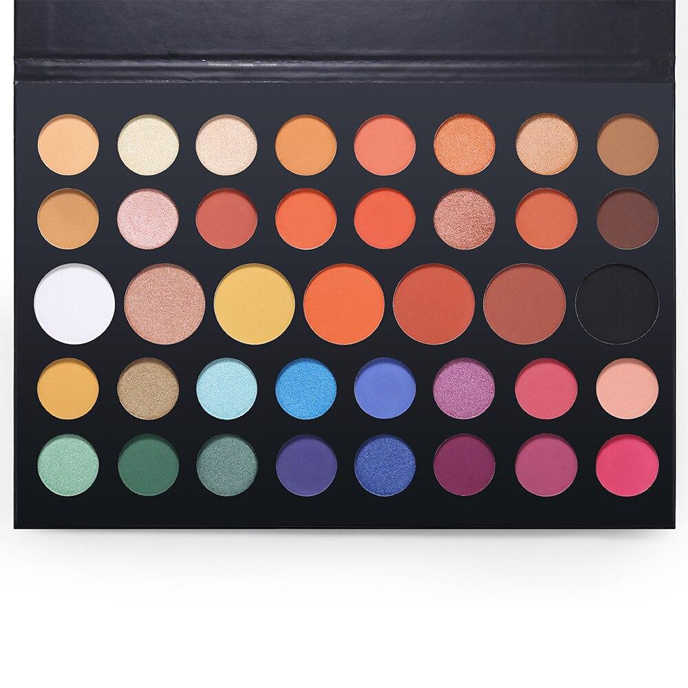 Brand 39 Colors Shimmer Matte Eyeshadow Palette Pigmented Silky Eye Shadow Kit Makeup Lasting Smooth Nude Eyeshadow Beauty Essentials Eye Shadow