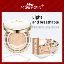 где купить Korean cosmetics Air Cushion BB Cream Concealer Natural Snail Moisturizing Foundation Whitening Makeup Bare For Face Beauty по лучшей цене