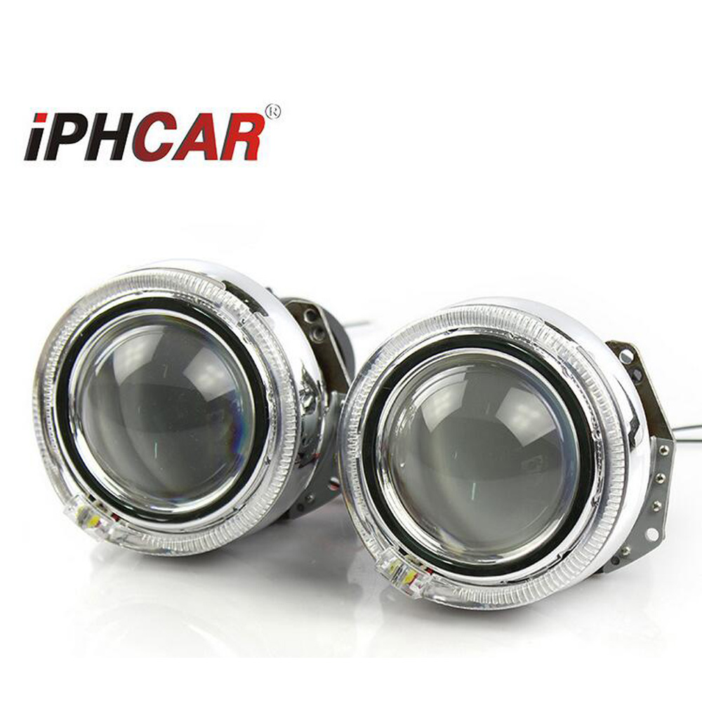 car styling hid bixenon projector lens hella 5 for gti led day running DRL white angel eyes free shipping free shipping 2 pcs original led q5 projector lens bixenon headlight model includ the led light car led projector lens