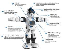 Мини умный робот для детей, RK01 босс робот игрушка