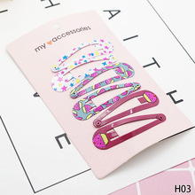 Perfect Girls Vintage Funny Available 3 Pairs/set Hairpins Usable High Quality Cute(China)
