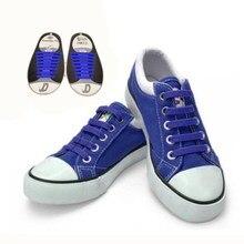 DJ-S2788 New Design  Fashion Lazy Elastic Shoelaces Unisex Elastic Shoelace T-tie Creative Lazy Silicone Laces No Tie Rubber