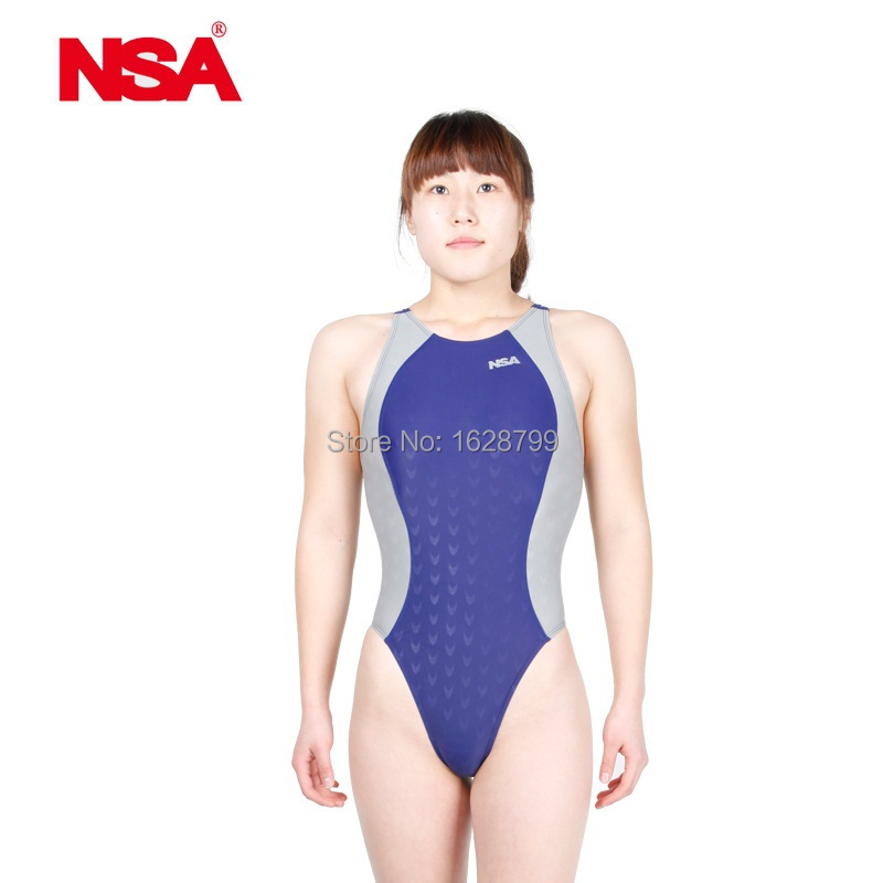 d1f9e473870 NSA Competitive swimming kids swimwear women competition swimsuits training  swimsuit swim suit women girls racing plus size-in One-Piece Suits from  Sports ...