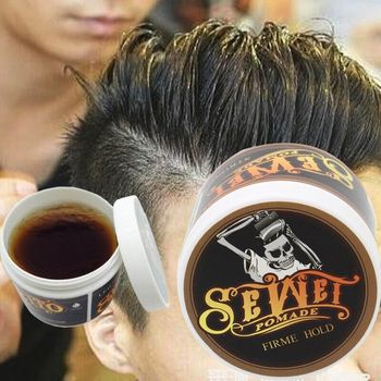 Hair Pomade Strong Style Restoring Pomade Hair Wax Skeleton Cream Slicked Oil Mud Keep Hair for Men Pomades & Waxes