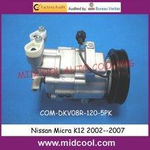 Авто Ac Компрессор для Nissan Micra K12 2002—2007