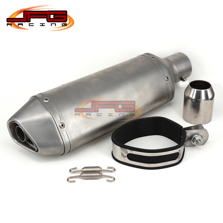 ФОТО Modified Motorcycle Exhaust Pipe Muffler For CBR CB400 CB600 CBR600 CBR1000 KTM 990 DUKE ER6N ER6R YZF600 TTR Free Shipping