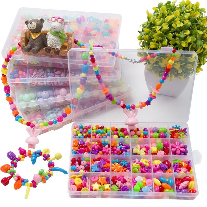 Assorted Plastic Acrylic Bead Kit
