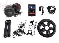 Envio Gratis Electric Bike 48V 350W 8fun Bafang BBS01 Mid Drive Motor Kits E Bike Kit