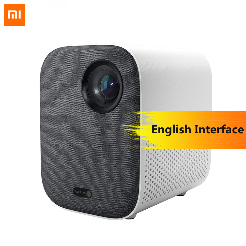Xiaomi Versão Juventude Mijia Projetor Inteligente Full HD 1080 P 2.4g/5g WIFI Projector LED Beamer TV home Cinema Suporte Dolby HDR 3D