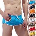 Dos Homens da Marca HOT Troncos Bolso Swimwear Trajes de Banho para Homens calções de Praia Piscina de Banho Desgaste Shorts Sungas curtas homme