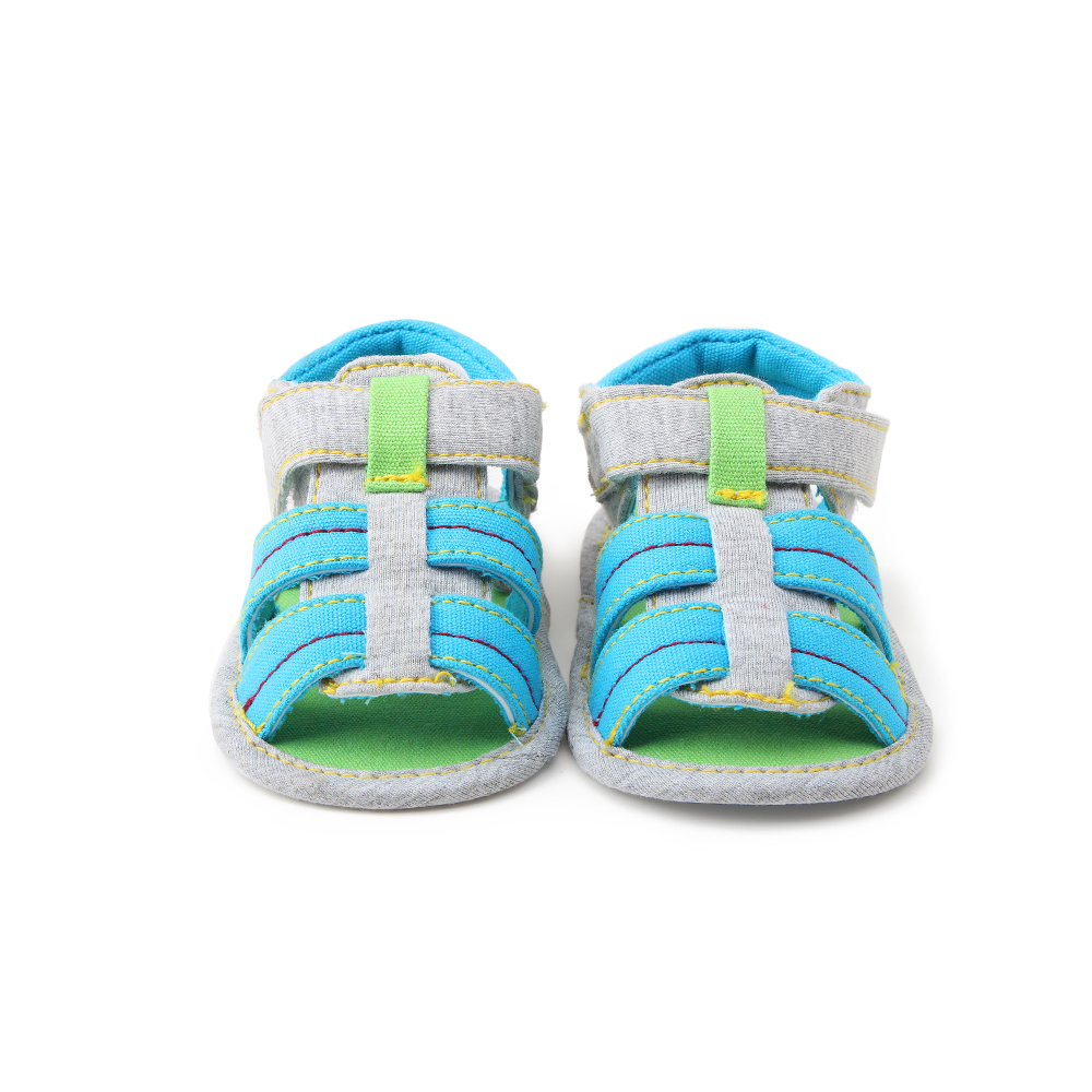 Baby Shoes Newborn Infant Baby Boys Shoes Cotton Striped Soft Bottom Casual First Walkers 0-18M