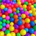 Comercio al por mayor 100 unids/lote niños bebé bola marina ce verde gruesa bola marina toys for children envío gratis