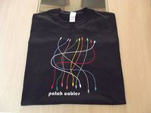 EURORACK MODULAR PATCH CABLES SYNTH DESIGN T SHIRT S M L XL XXL Print Shirt Mens Short Sleeve Hot Tops Tshirt Homme