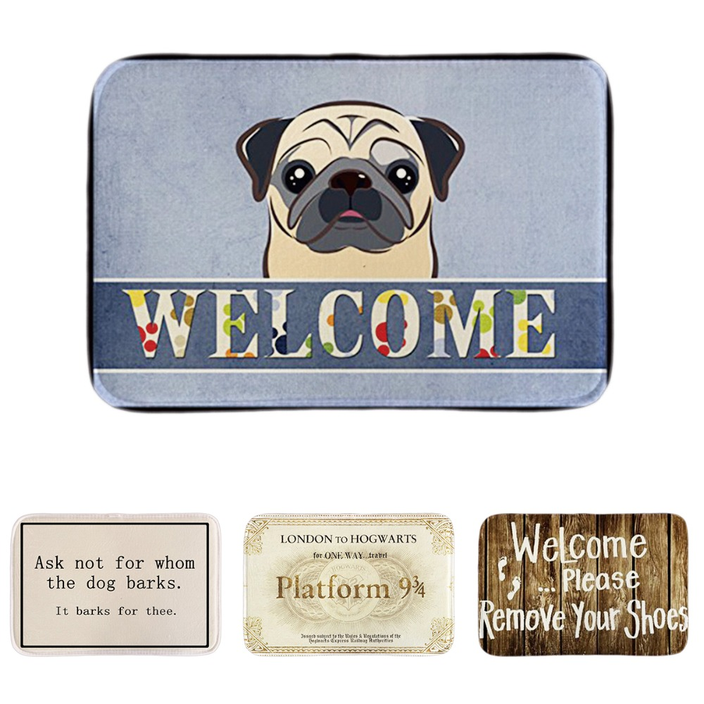 Welcome Pleaase Remove Your Shoes Home Entrance Doormats Cute ...