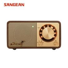 Sangean Mozart Mini Dunkle walnuss Bluetooth lautsprecher mit radio