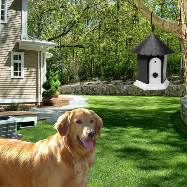 Hot sale Pet Products Puppy Outdoor Ultrasonic Anti Barking Control Birdhouse Bark Stop Sonic Pet Dog Supplies Trainings Collar