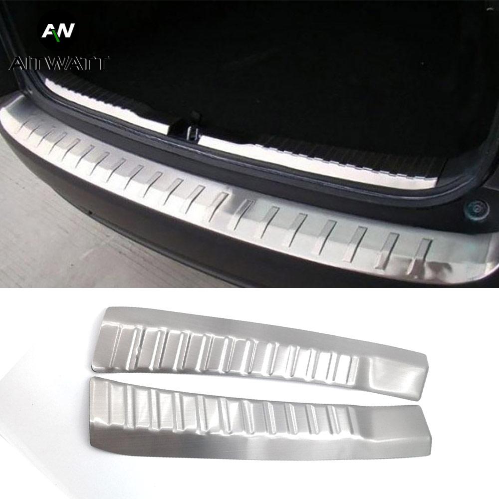 Inner Rear Bumper Protector For Honda CRV 2012-2016 Inside Stainless Steel Door Sill Plate Trunk Cover Trim Car Styling AITWATT