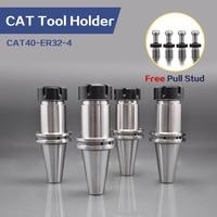 4Pcs CAT40 ER32-4 Tool Holder CNC machine center