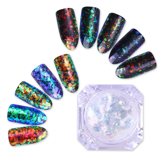 Online shop born pretty chameleon nail sequins 02g cloud born pretty chameleon nail sequins 02g cloud paillette irregular glitter powder flakes diy nail art decorations accessories prinsesfo Image collections