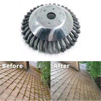 Grass Cutter Wheel Grout Replacement Rotary Accessories Polishing Bowl Type Weed Brush Steel Wire Garden Trimmer Practical Tool