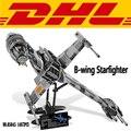 2017 Nueva LEPIN 05045 1487 Unids Estrella Guerra B-wing Starfighter Modelo Bouilding Kits Blcks Ladrillos Compatibles Juguete de Regalo 10227