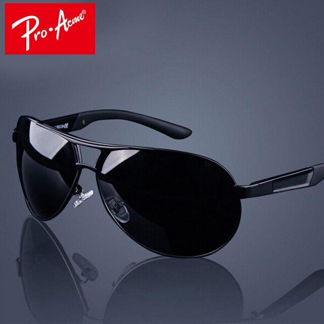 b3977888e7eb4b Pro Acmé Classique Hommes Polarisées lunettes de Soleil Polaroid Voiture  Pilote Lunettes De Soleil Homme Lunettes